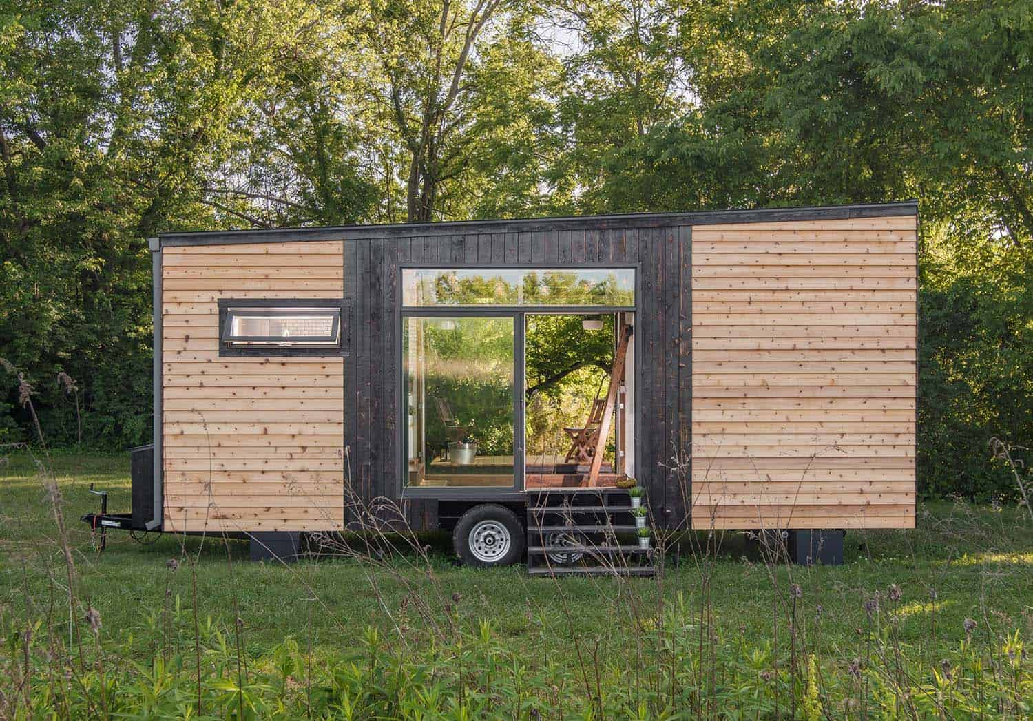 Innovative tiny house showcases luxury details on a budget on tiny house blueprints, tiny house 3d model, tiny house sketch up, tiny house fad,