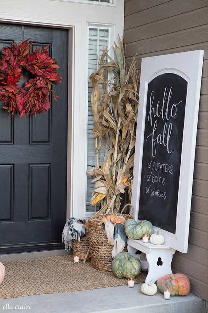 Farmhouse Fall Decorating Ideas 35 1 Kindesign
