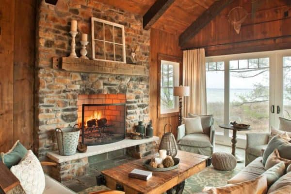 featured posts image for Warm and inviting rustic lake house on Grand Traverse Bay
