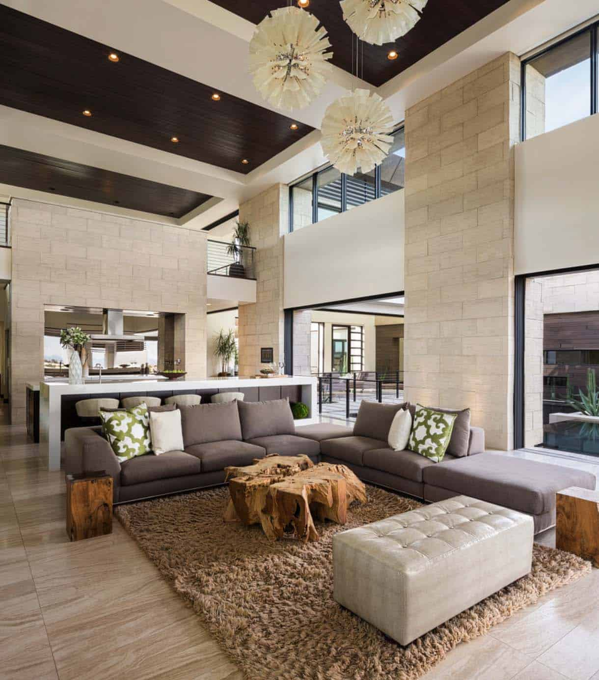 luxury contemporary home blue heron design 02 1. Phenomenal desert contemporary showcase home in Nevada