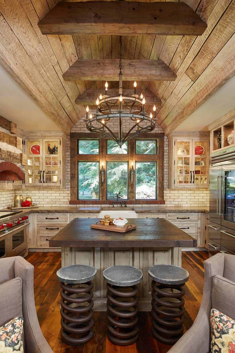 45 most pinteresting kitchens featured on 1 kindesign for 2016 for Rustic house designs