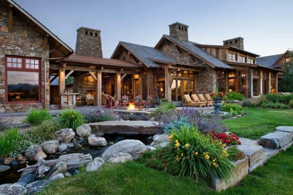 featured posts image for A rustic family compound in the mountains of Montana
