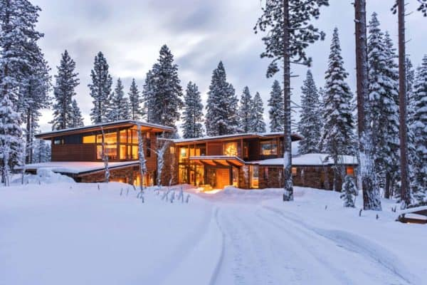 featured posts image for Fabulous mountain modern retreat in the High Sierras