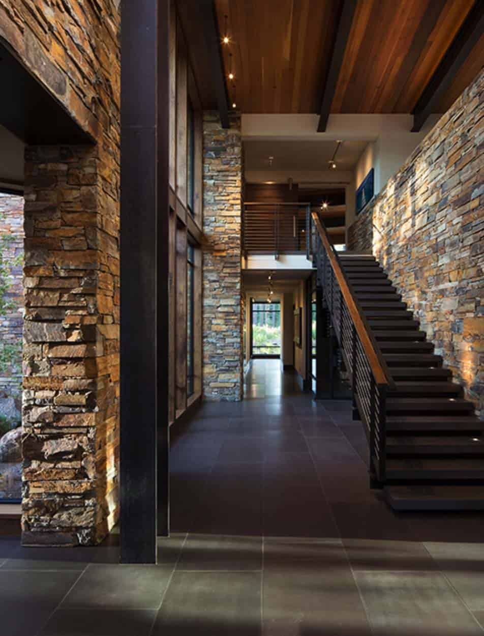 mountain homes interiors fabulous mountain modern retreat in the high sierras 14302