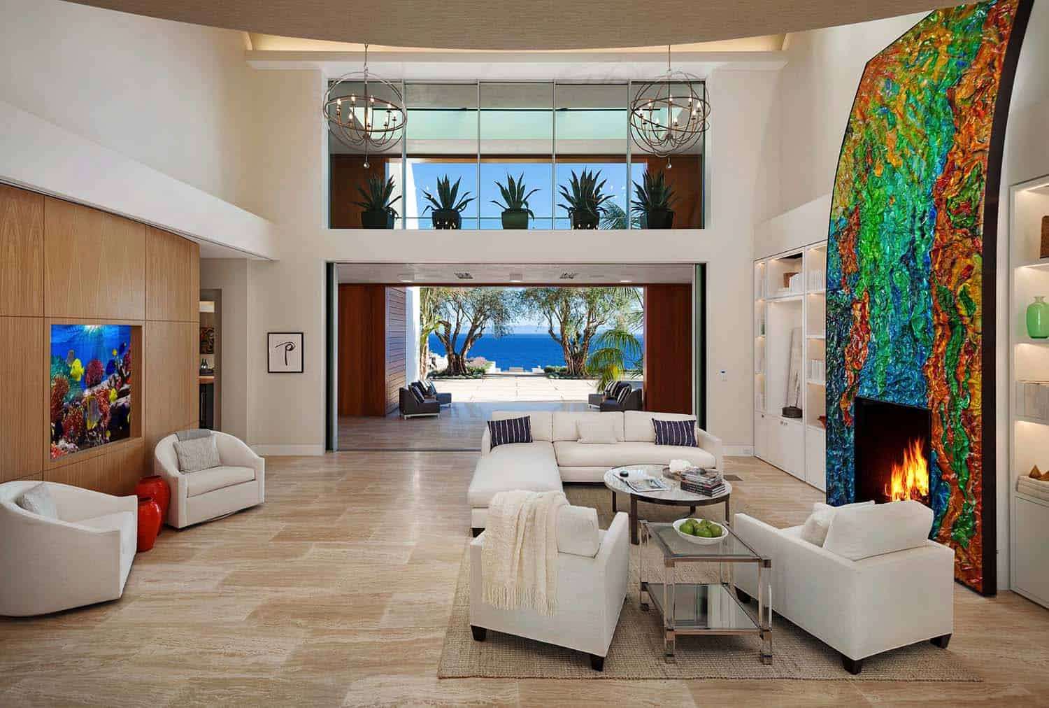 ... Jaw Dropping Post Modern Contemporary Estate In Southern California