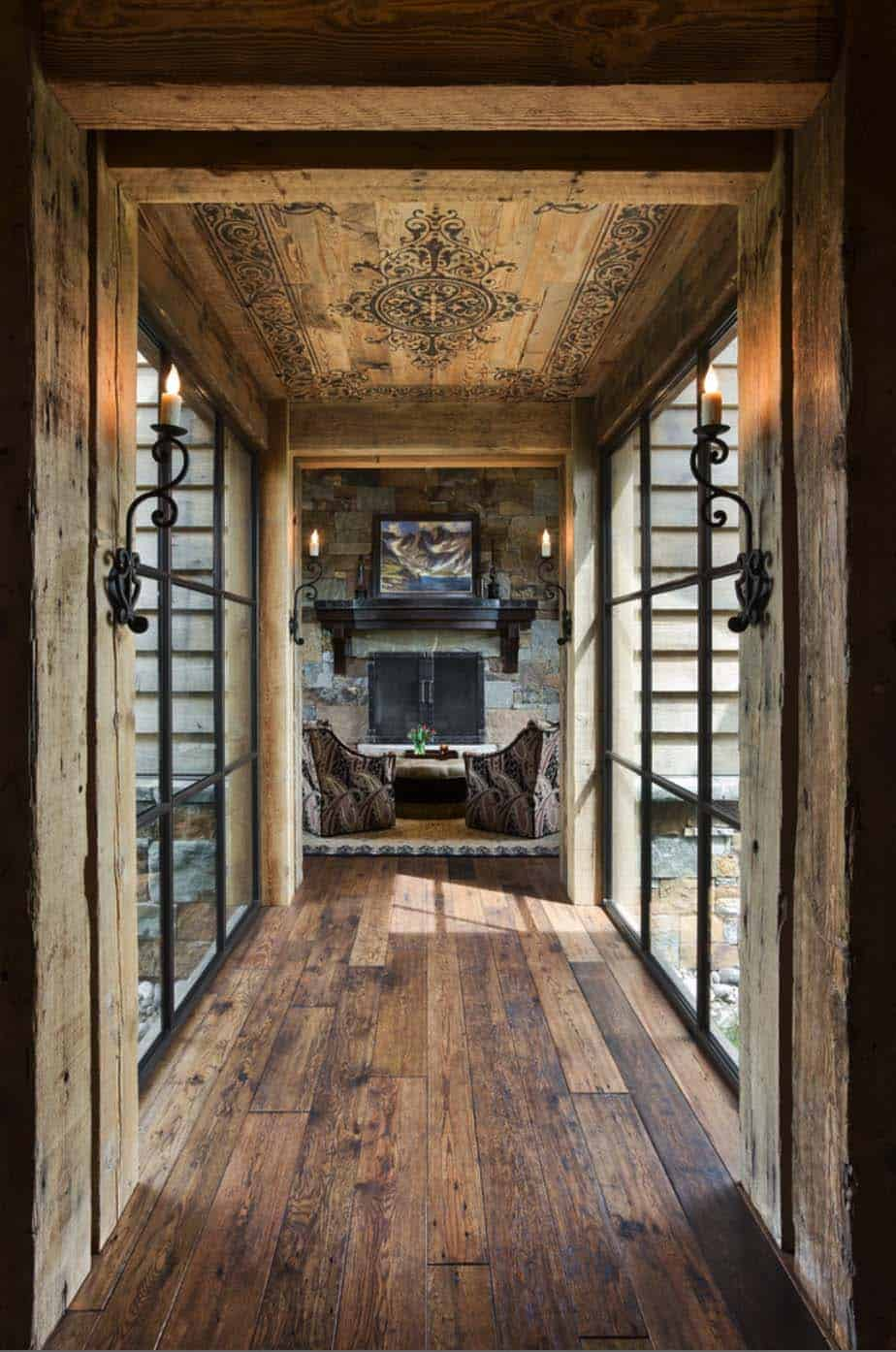 Small Home Interior Design Ideas: Rustic Yet Refined Mountain Home Surrounded By Montana's