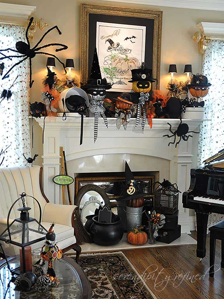 spooky-halloween-mantel-decorating-ideas-06-1-kindesign