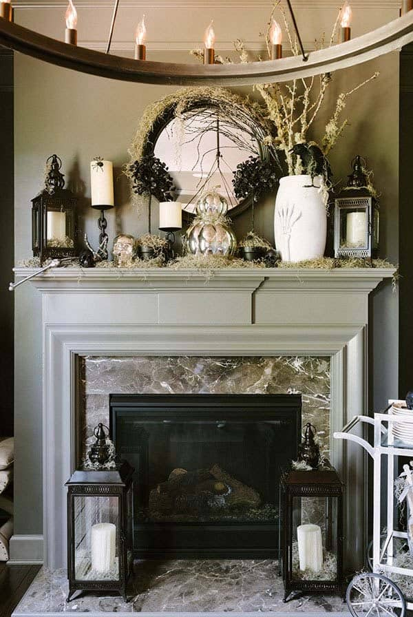 Y Mantel Decorating Ideas 31 1 Kindesign