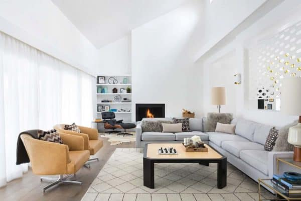 featured posts image for Chic and stylish mid-century modern remodel in Southern California