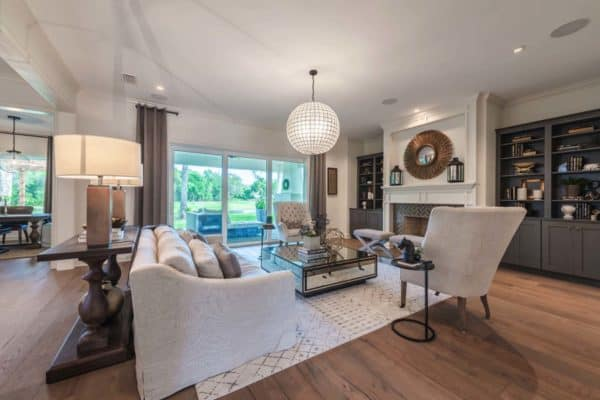 featured posts image for Casual meets elegance in this coastal style Florida home