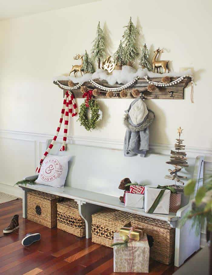 christmas decor ideas rustic country 01 1 kindesign