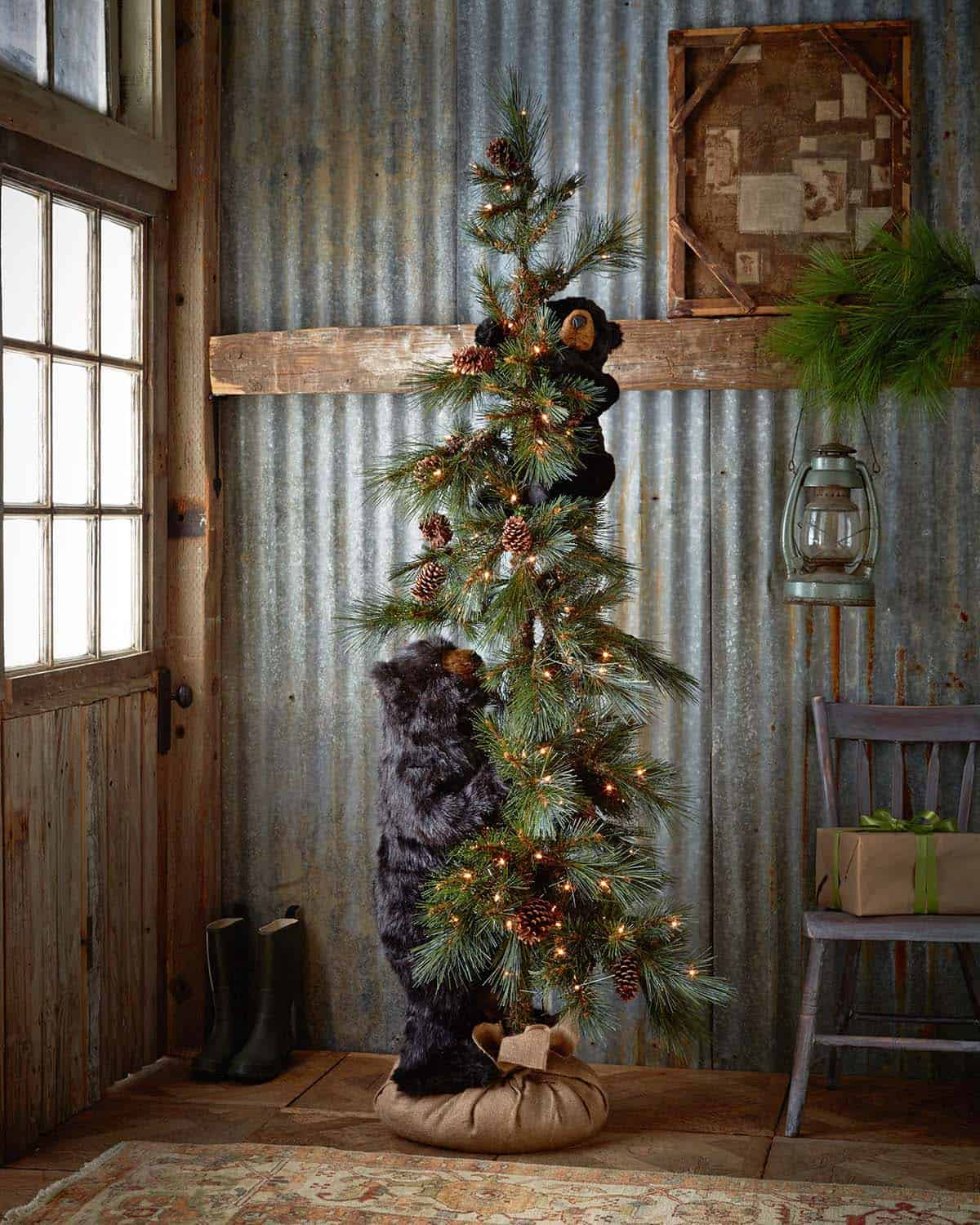 40 fabulous rustic country christmas decorating ideas for The christmas decorations