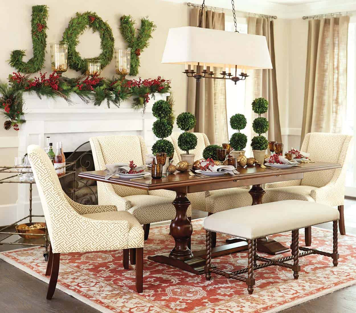 Holiday Home Design Ideas: 40+ Fabulous Rustic-Country Christmas Decorating Ideas