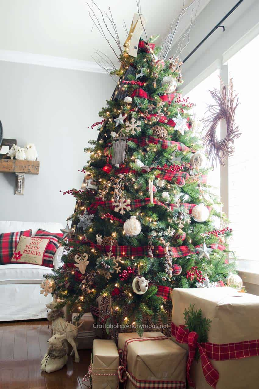 christmas decor ideas rustic country 31 1 kindesign