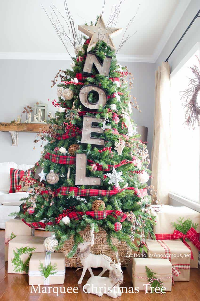 christmas decor ideas rustic country 44 1 kindesign