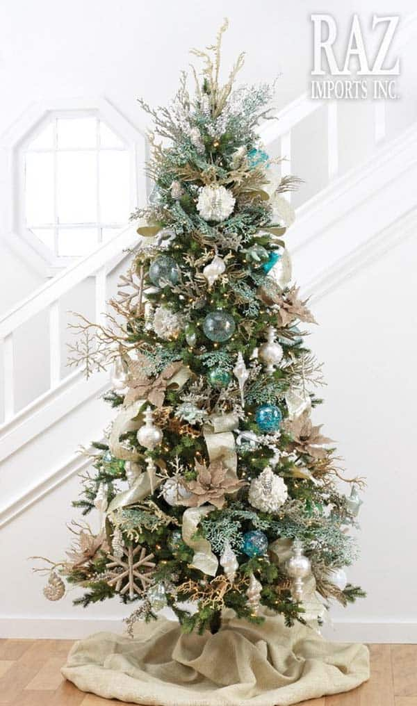 coastal christmas tree decorating ideas 05 1 kindesign