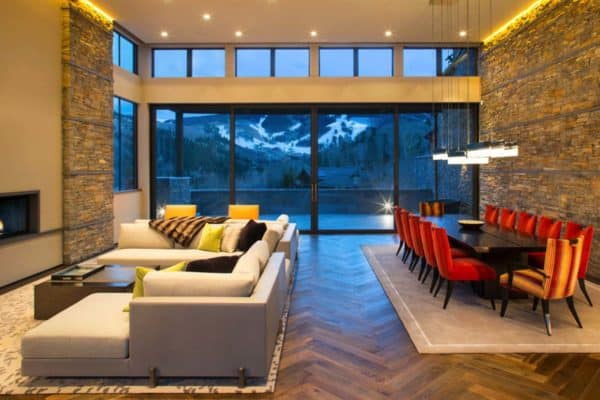 featured posts image for Dreamy mountain retreat in Colorado with warm and inviting interiors