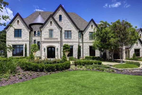 featured posts image for A French chateaux style dream home in Southlake, Texas