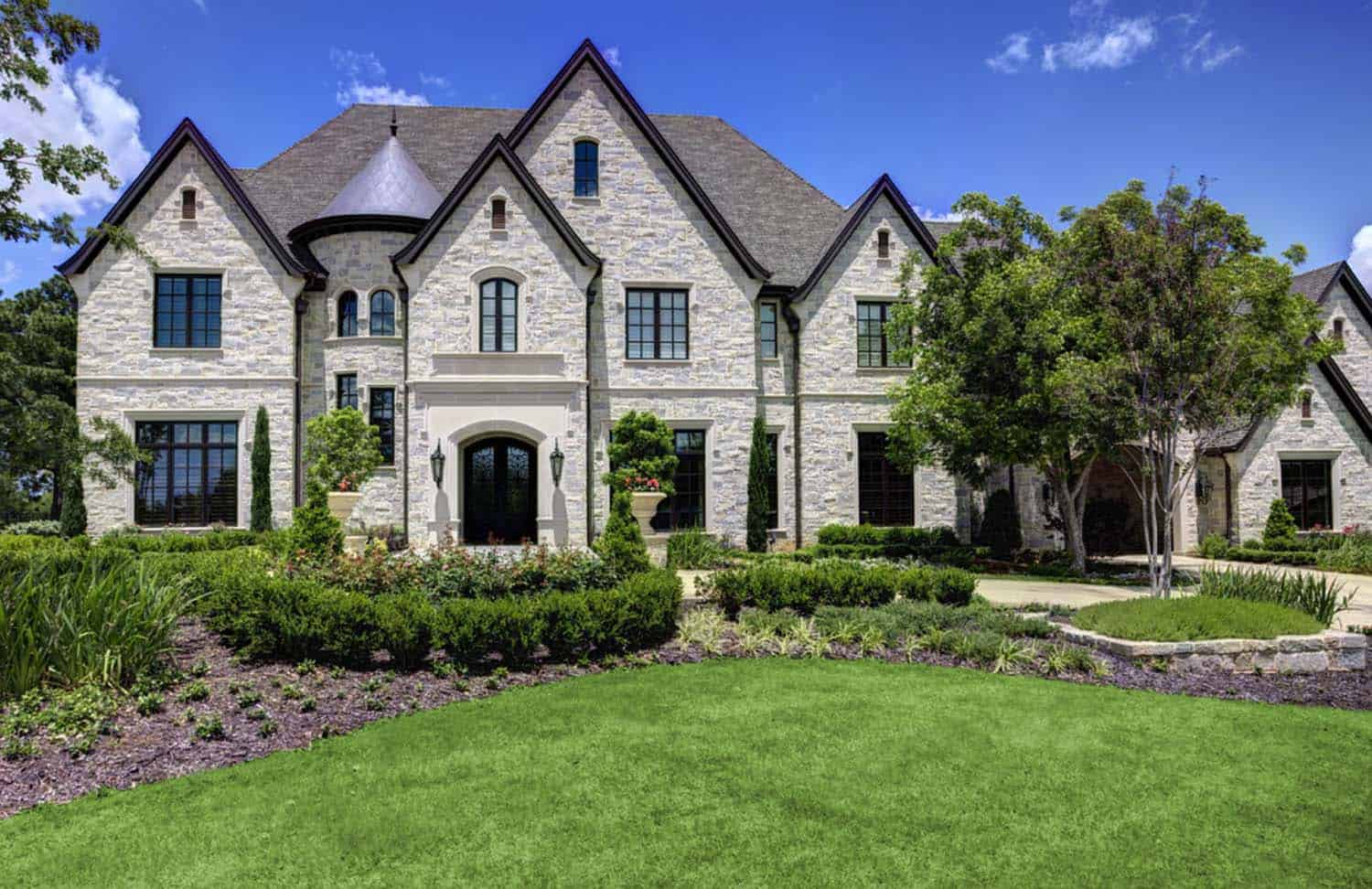 A french chateaux style dream home in southlake texas for French chateau style