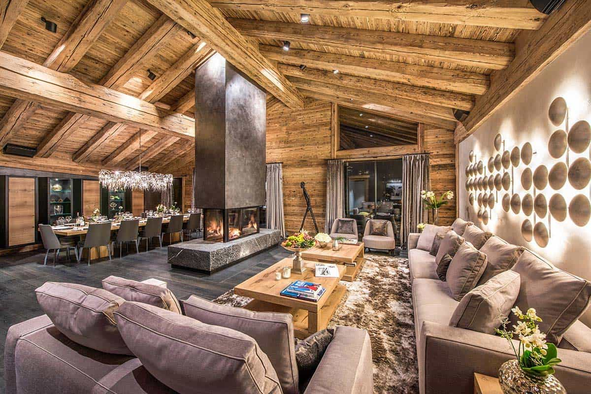 Luxurious chalet in the swiss alps offers ski resort for Motel luxury