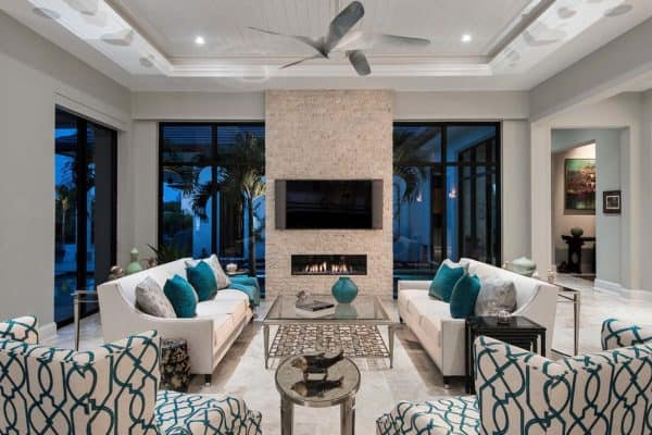 featured posts image for Custom estate home with elegant design features in Naples