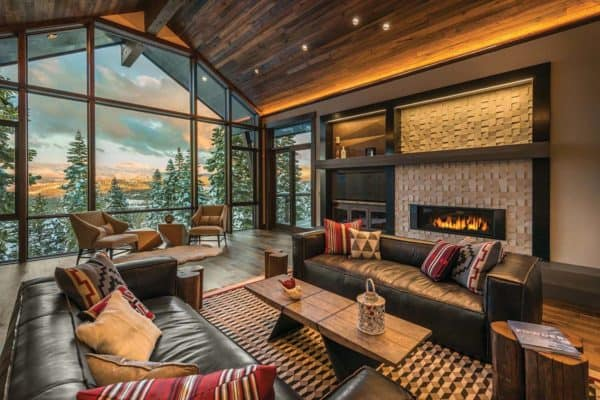 featured posts image for Mountain modern ski retreat with breathtaking views in Lake Tahoe