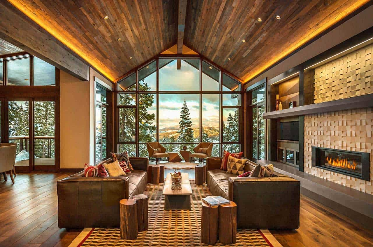 Country Bedrooms Mountain Modern Ski Retreat With Breathtaking Views In