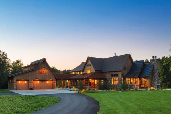 featured posts image for Visually inspiring rustic farmhouse in the Minnesota countryside