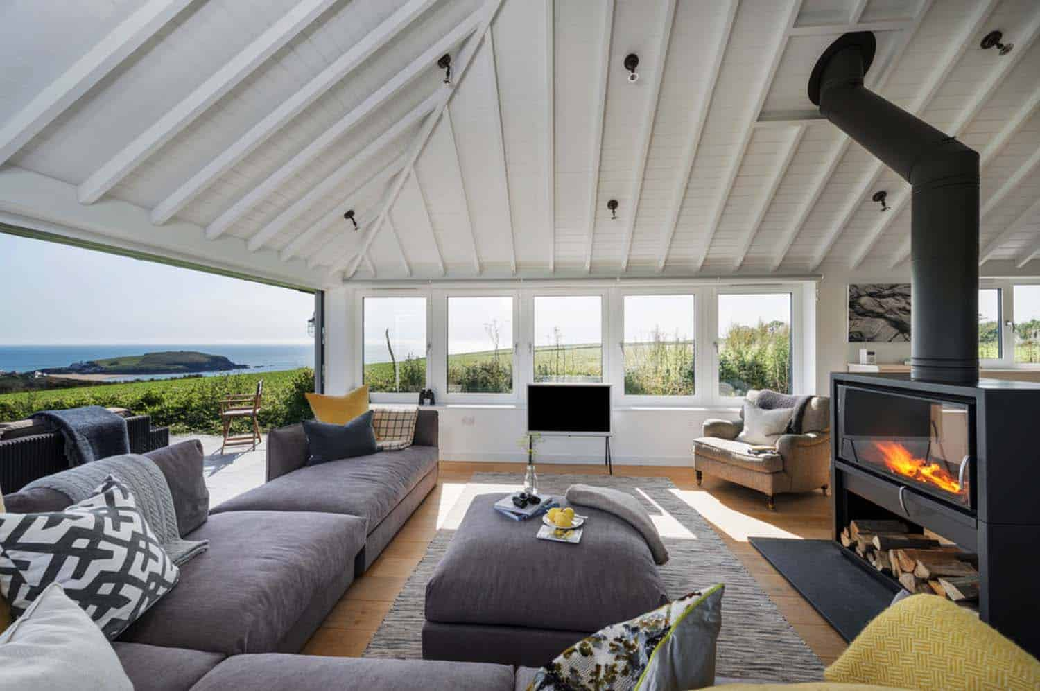 Beautiful Seaside Bungalow Completely Transformed In South Hams