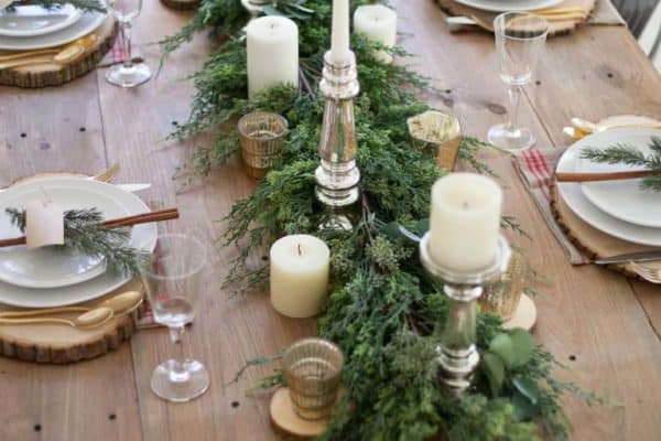 featured posts image for 30+ Absolutely stunning ideas for Christmas table decorations