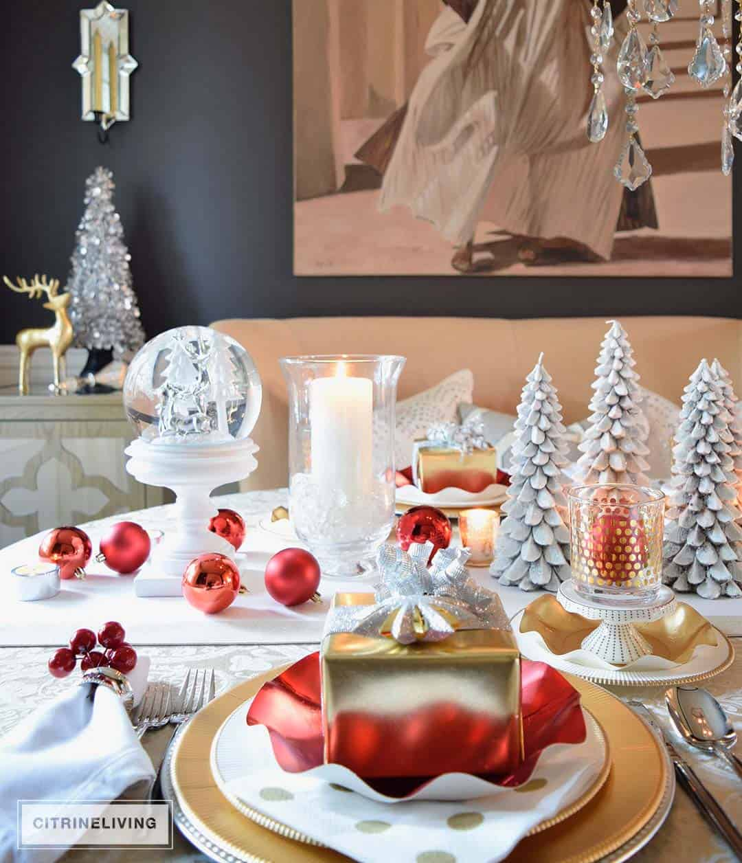 Fun Christmas Table Decorations: 30+ Absolutely Stunning Ideas For Christmas Table Decorations