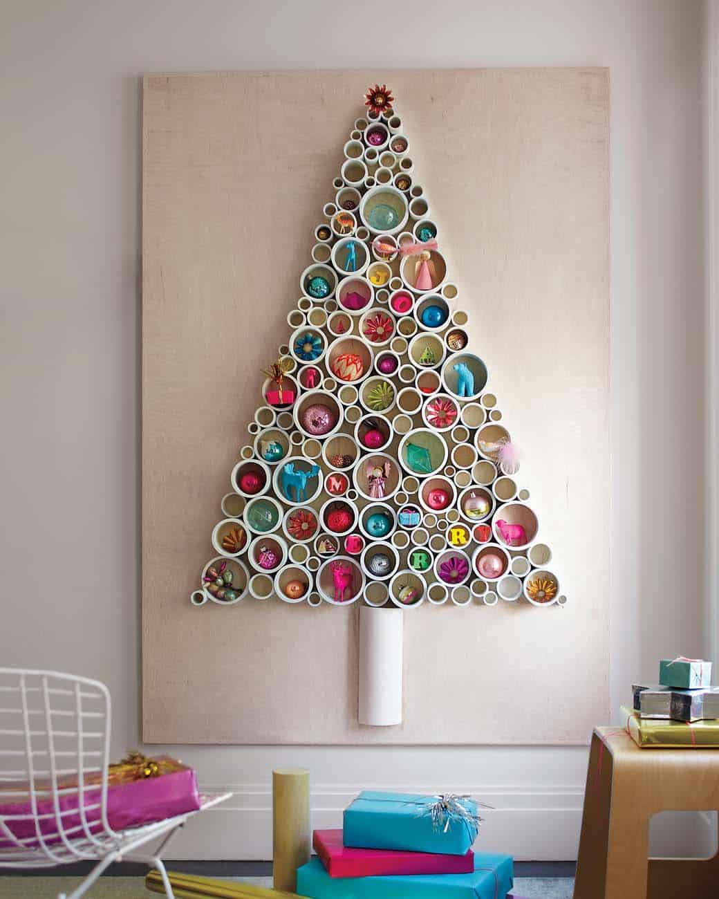 30 Amazingly Brilliant Diy Christmas Tree Alternatives