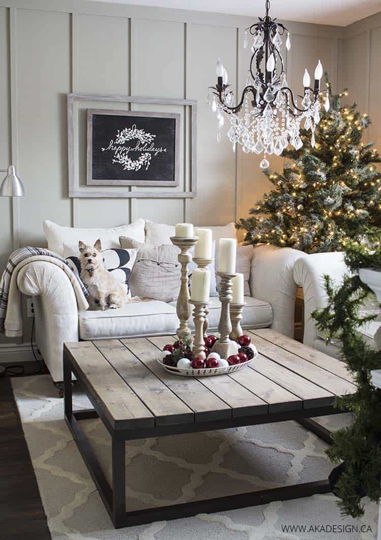 Cozy Christmas Decorated Homes 18 1 Kindesign