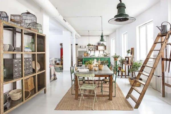 featured posts image for Chic factory style loft in Madrid brimming with character
