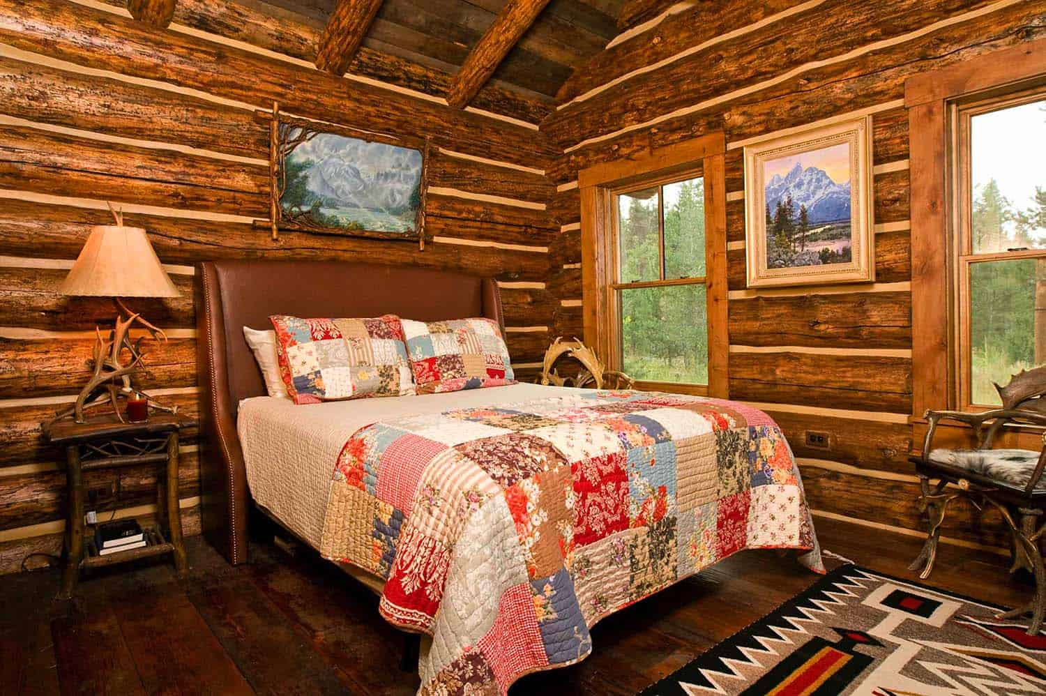 log cabin bedrooms 35 gorgeous log cabin style bedrooms to make you drool 12156