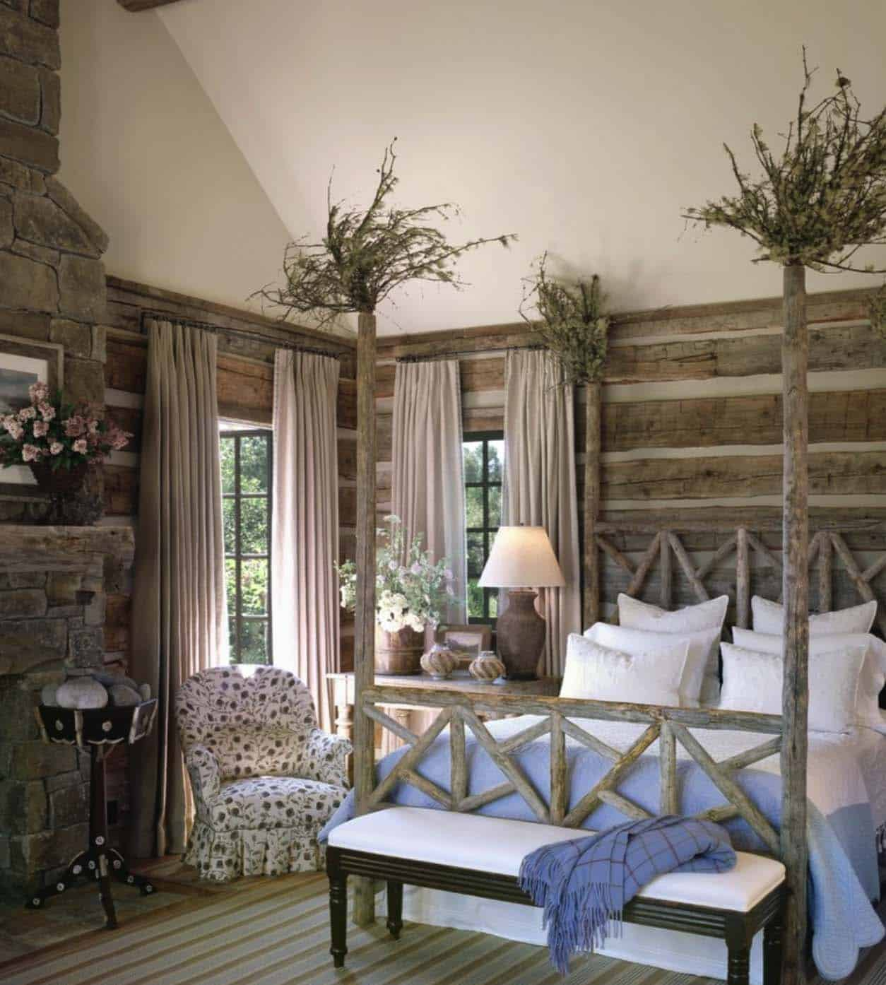 Cabin Bedroom Ideas: 35+ Gorgeous Log Cabin Style Bedrooms To Make You Drool