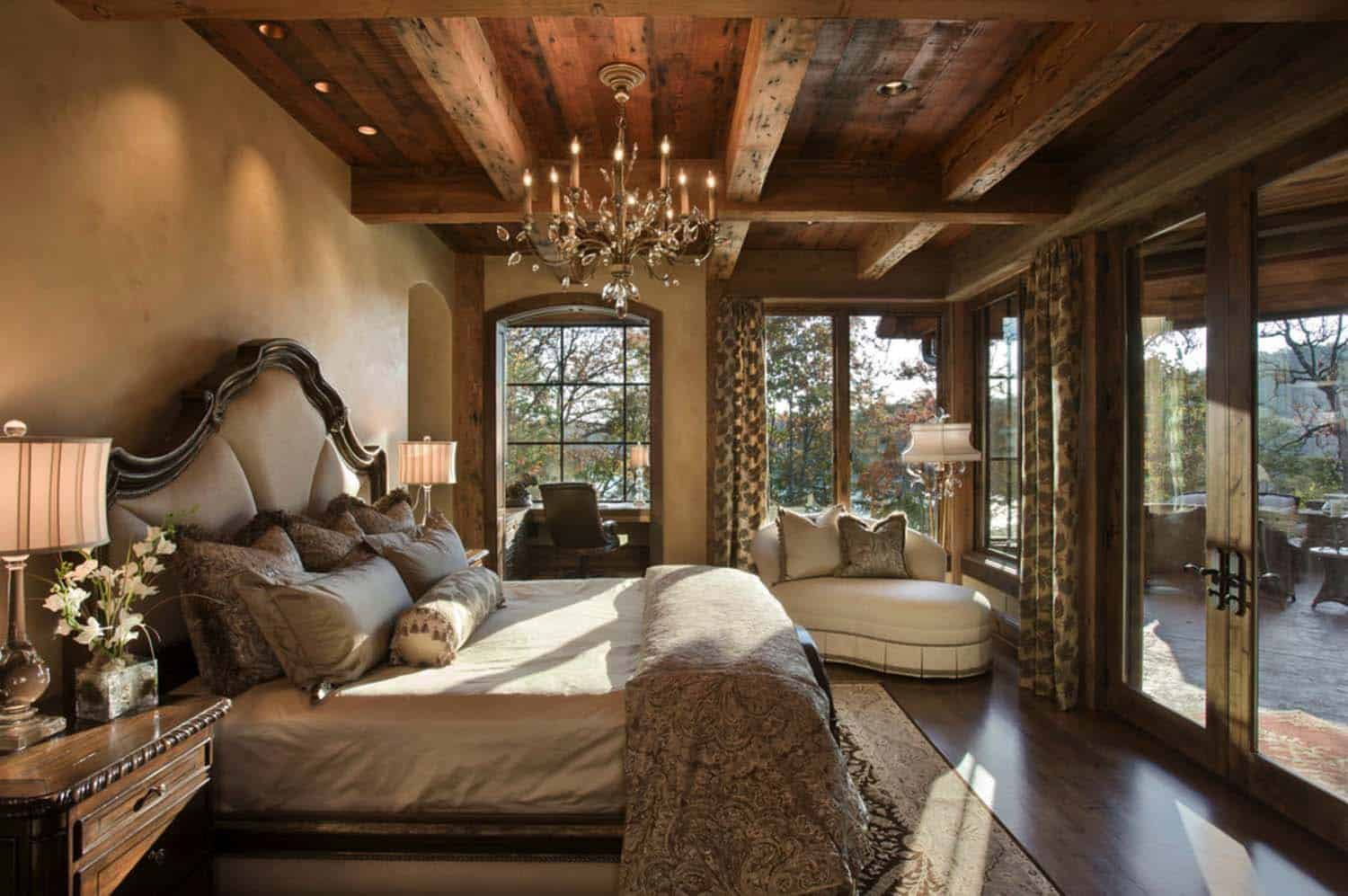 Log Cabin Style Bedrooms 30 1 Kindesign