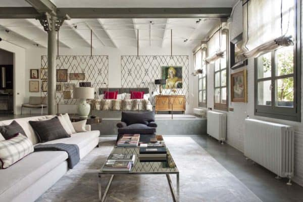 featured posts image for Industrial modern style loft in New York with cozy interiors