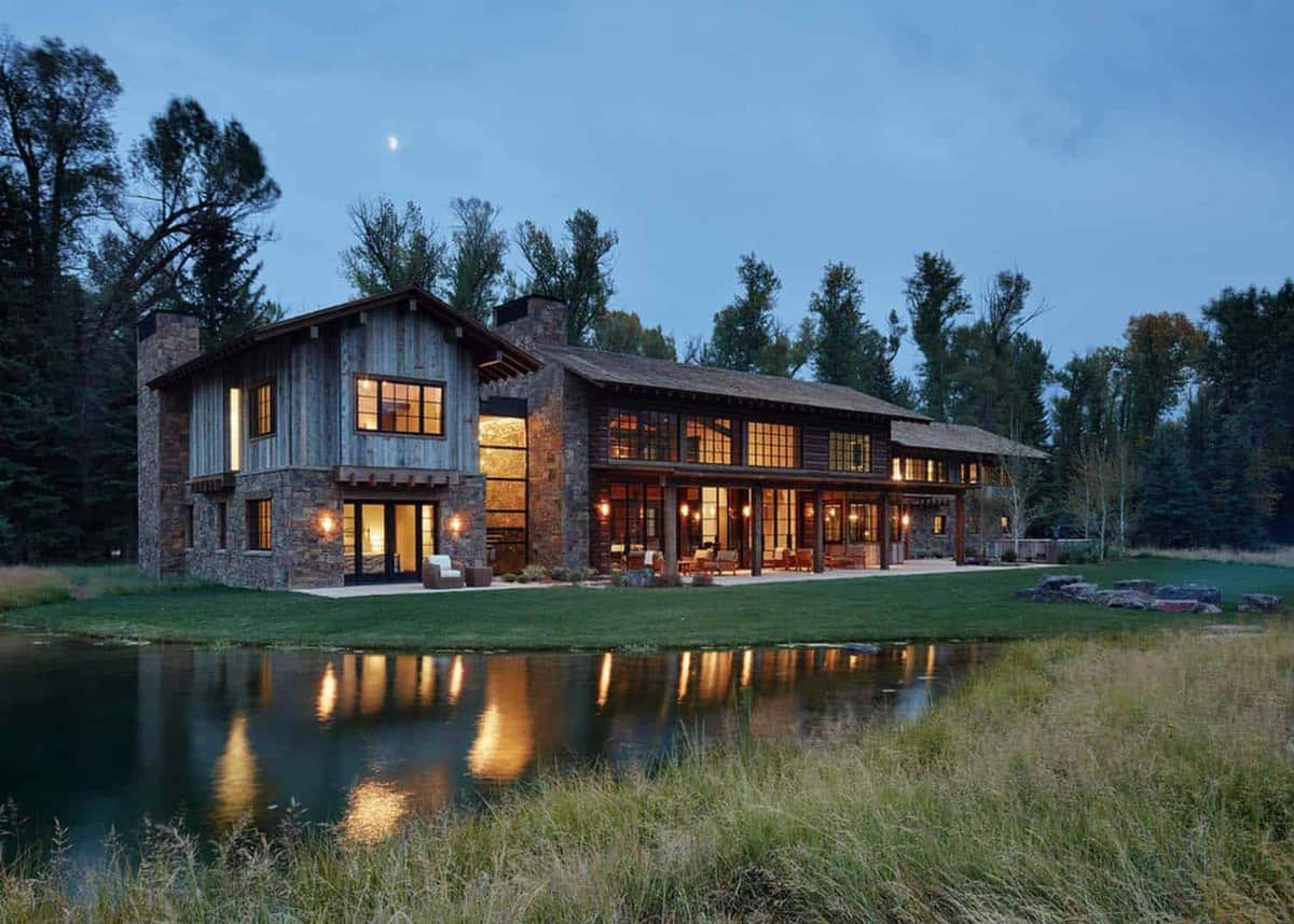 Marvelous Modern Rustic Mountain Retreat Carney Logan Burke Architects  Photo Gallery