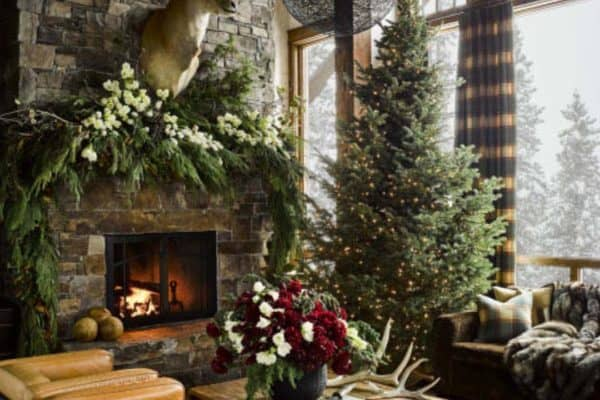 featured posts image for Montana guest retreat gets a fabulous makeover for the holidays