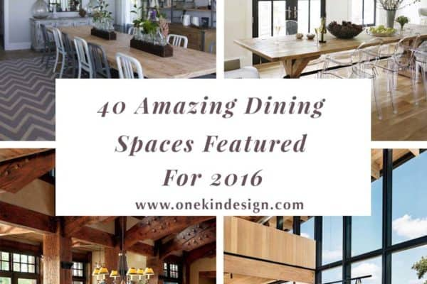 featured posts image for 40 Most amazing dining spaces featured on 1 Kindesign for 2016