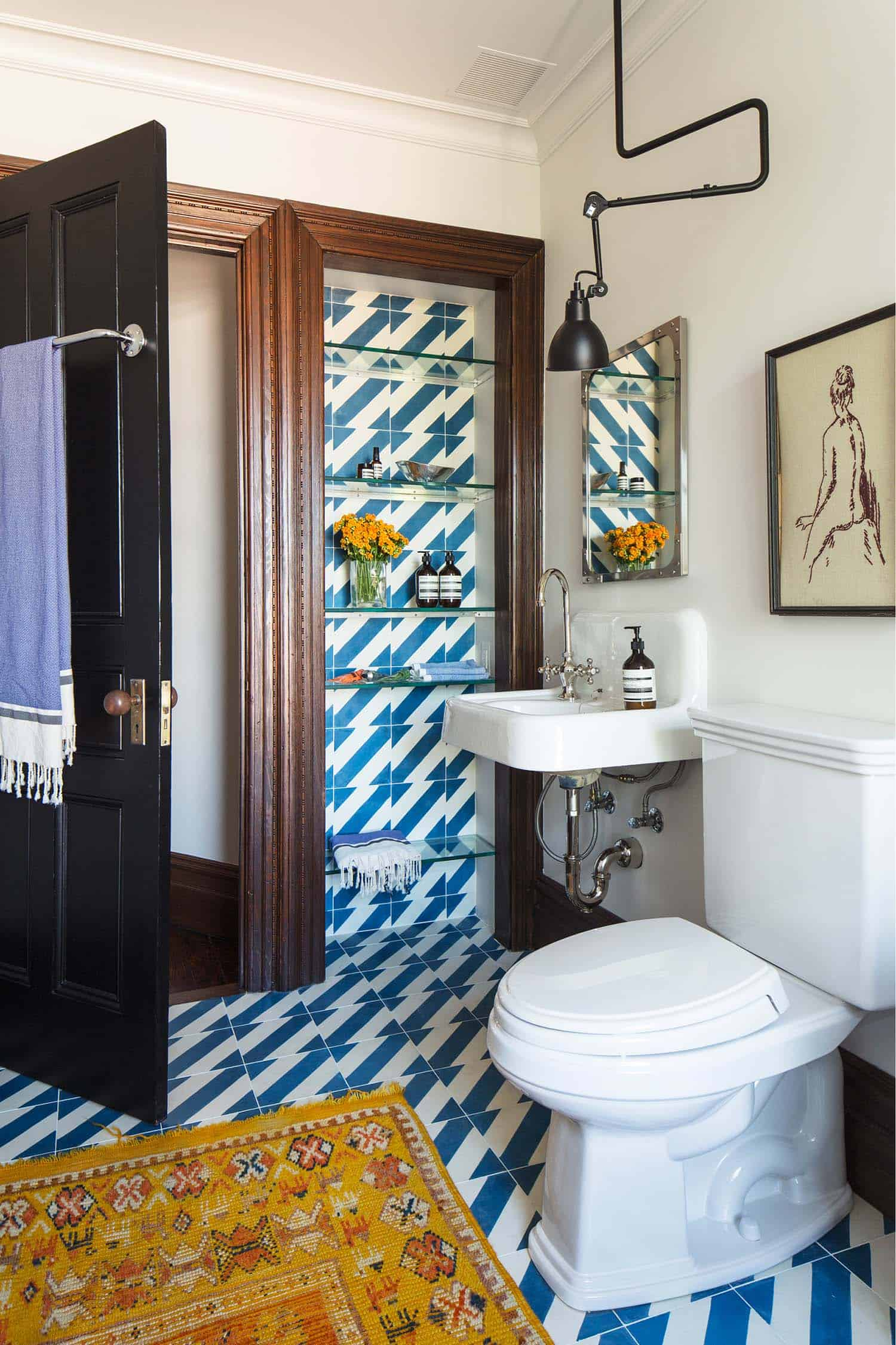Contemporary Townhouse Renovation-Elizabeth Roberts Design-18-1 Kindesign