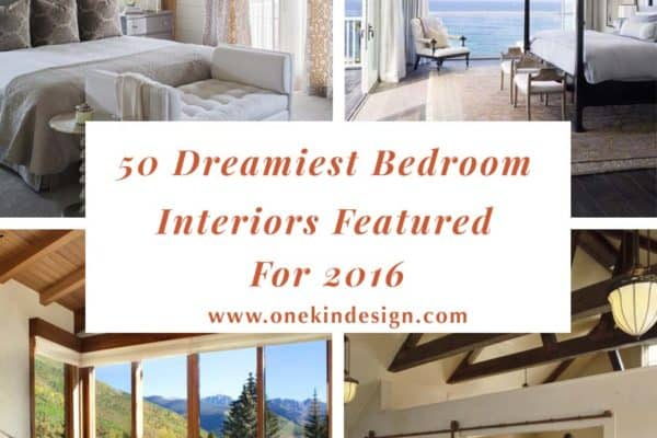 featured posts image for 50 Dreamiest bedroom interiors featured on 1 Kindesign for 2016
