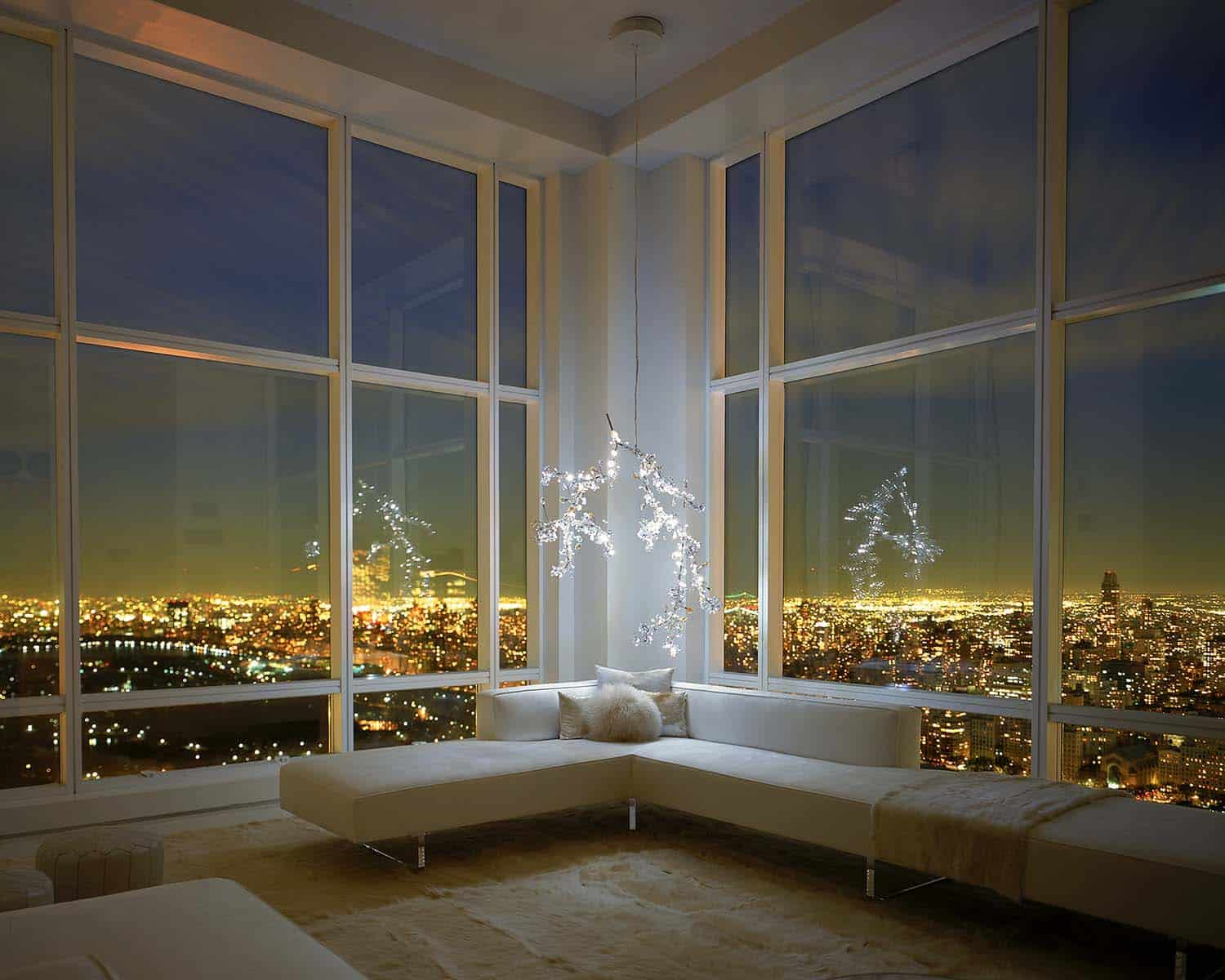 Jaw dropping minimalist penthouse in new york 39 s central park for New york city penthouses central park