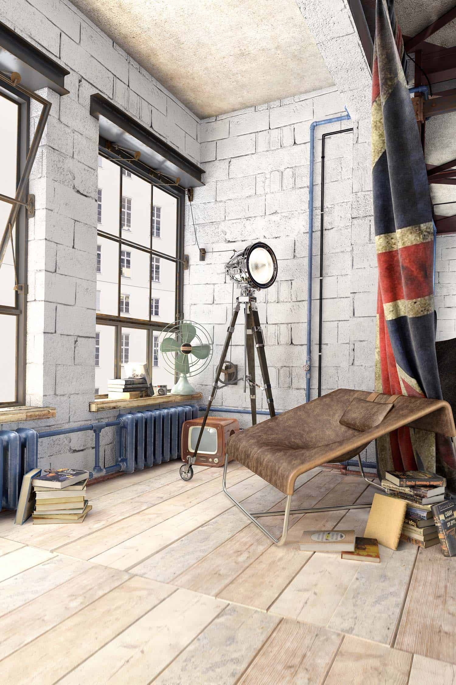 Modern Loft Apartment-Galina Lavrishcheva-03-1 Kindesign
