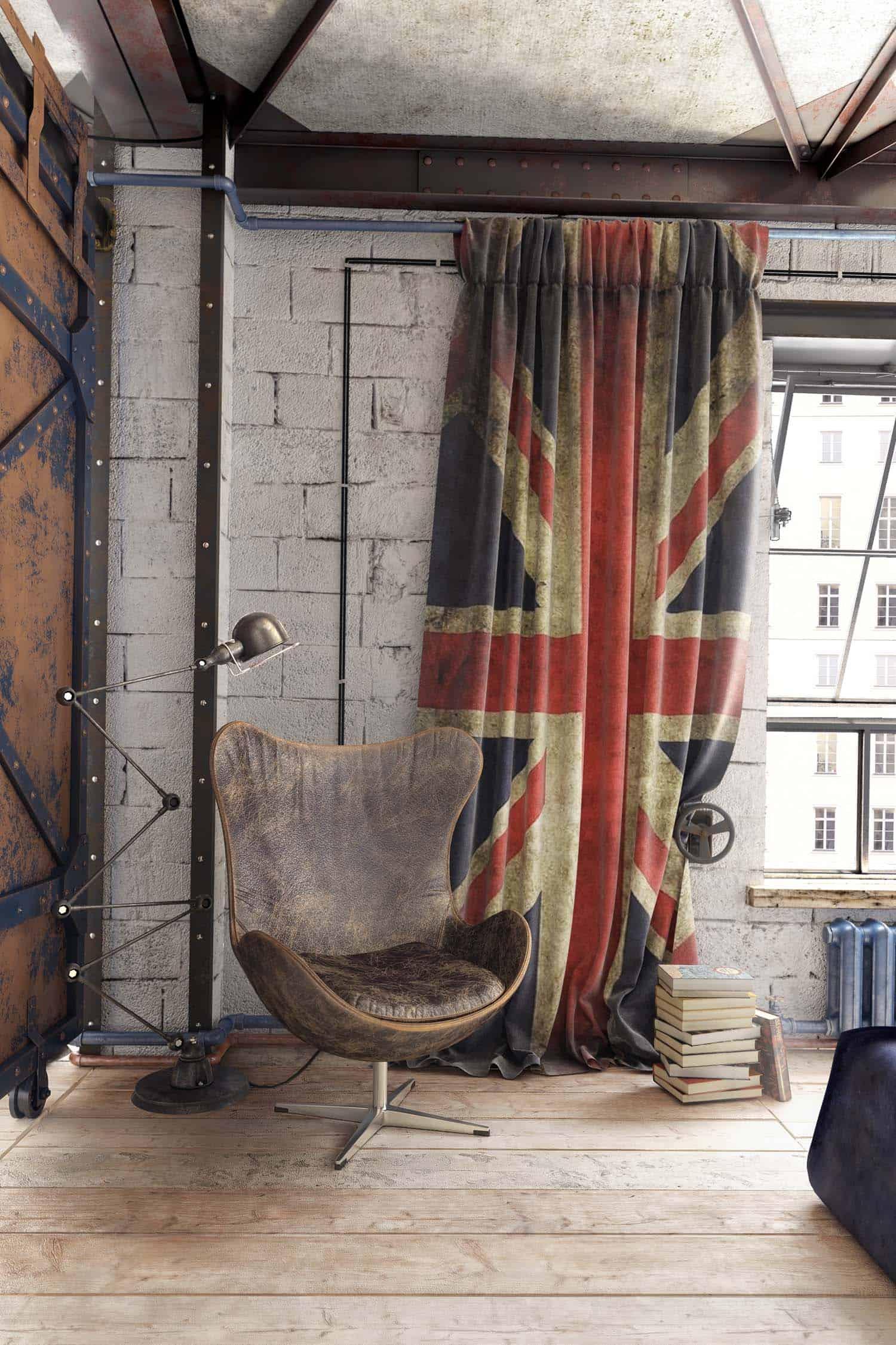 Modern Loft Apartment-Galina Lavrishcheva-05-1 Kindesign