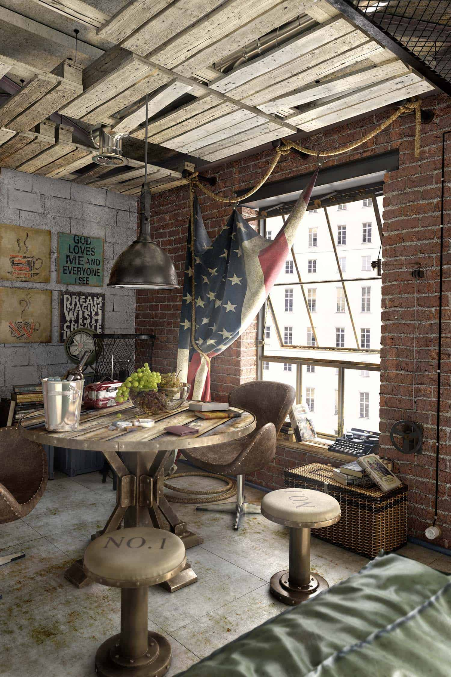 Modern Loft Apartment-Galina Lavrishcheva-12-1 Kindesign
