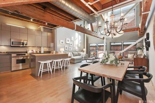 featured posts image for Fabulous loft in the historical Oriental Warehouse, San Francisco