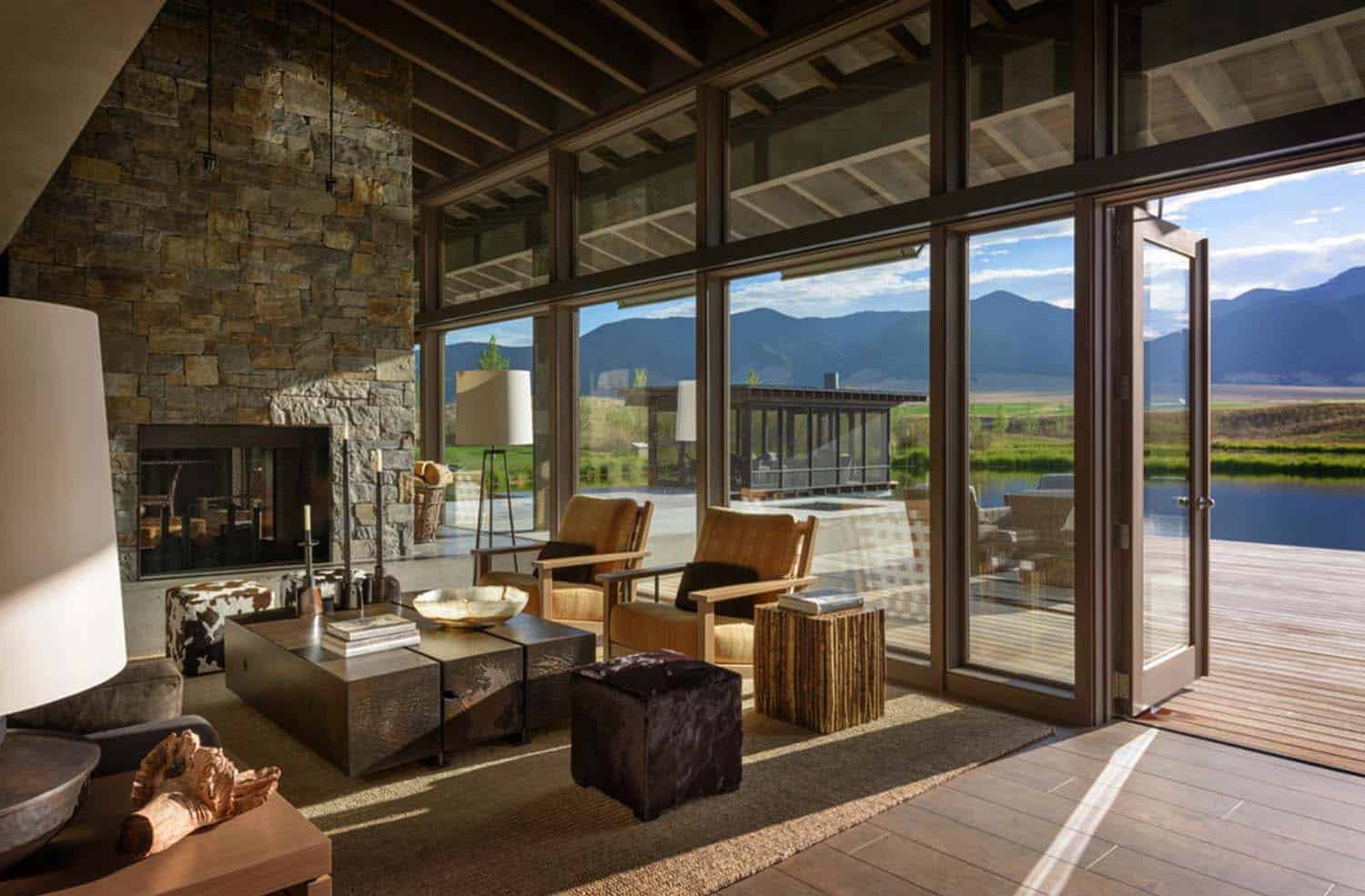 Montana Ranch House-Suyama Peterson Deguchi-05-1 Kindesign