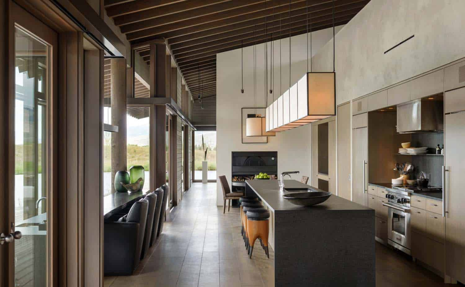 Montana Ranch House-Suyama Peterson Deguchi-12-1 Kindesign